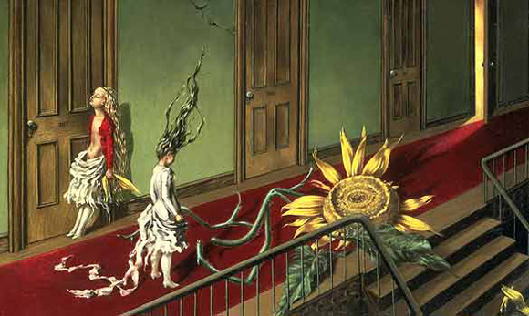 Dorothea Tanning - A Little Night Music - girasole