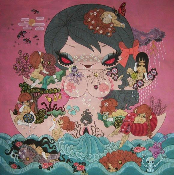 junko mizuno flare kawaii cute goddess dea sex