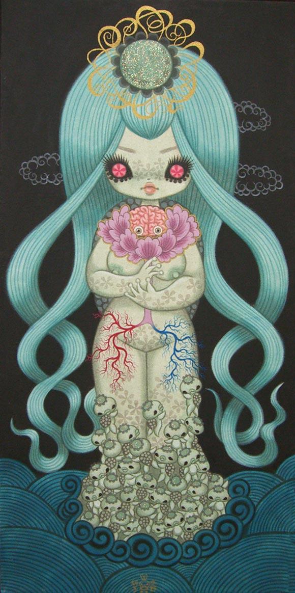 junko mizuno flare kawaii cute lady botan