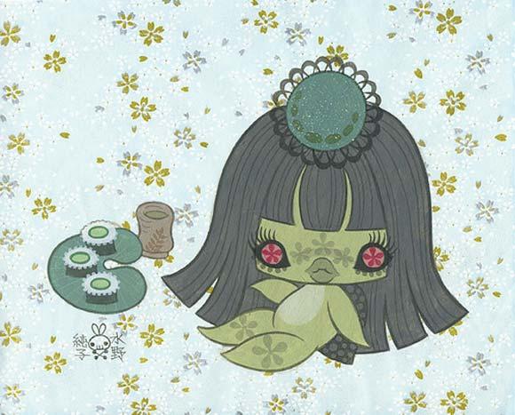 junko mizuno flare kawaii cute kappa show miyo
