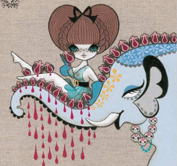 junko mizuno flare kawaii cute Menstruation
