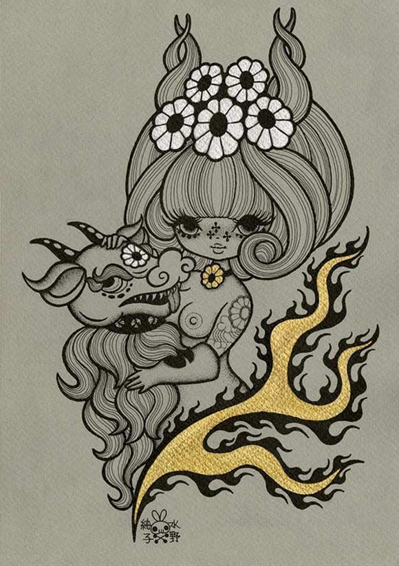 junko mizuno flare kawaii cute tender succubus beast