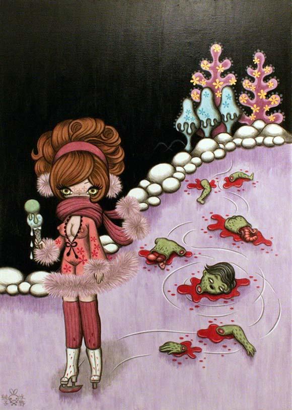 junko mizuno flare kawaii cute Tender Succubus Skating Rink Murderer