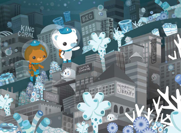 Meomi - The Octonauts and the Great Ghost Reef