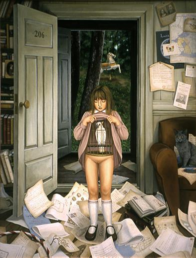 Shiori Matsumoto - Innocence, 1999, 145.5×112.0cm, Oil on canvas