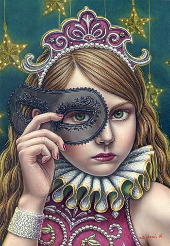Shiori Matsumoto - Illusion, 2007, 22.7×15.8cm, Oil on canvas