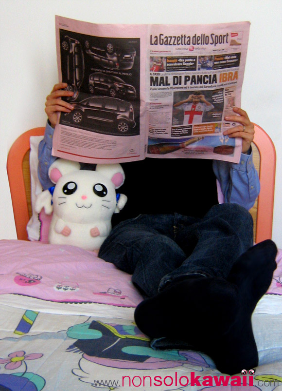 Boyfriend's Diary: Hello Kitty Outlet Store Gazzetta Sport