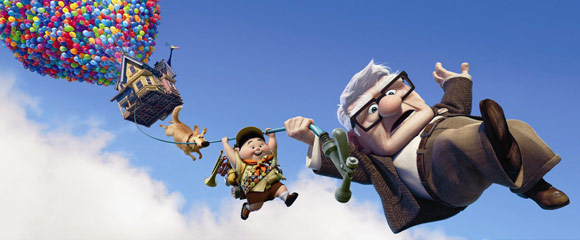 Up walt disney pixar dvd italiano bambini cartoni animati eur