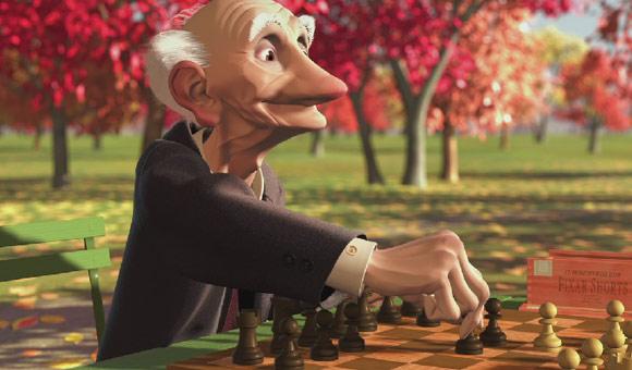 Geri, game, gioco, Disney Pixar, anime, movie, animation, cartoon, cartone, animato