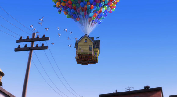 Up, Disney Pixar, anime, movie, animation, cartoon, cartone, animato