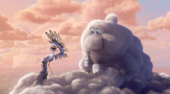 Parzialmente Nuvoloso, Partly Cloudy, Disney Pixar, anime, movie, animation, cartoon, cartone, animato