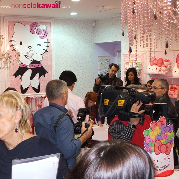 35th Anniversary - Store Hello Kitty & Friends - sanrio - kawaii - cute - party - compleanno - kitty