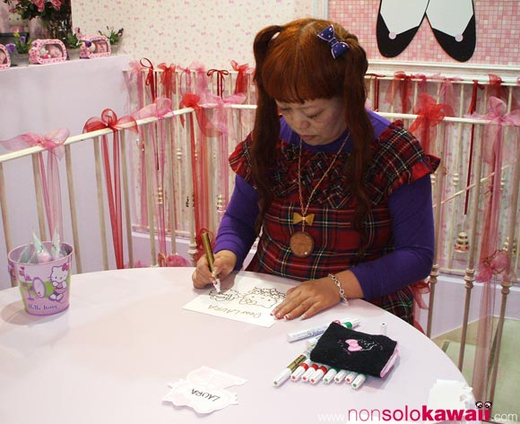 35th Anniversary - Hello Kitty - Yuko Yamaguchi - kawaii - cute - milano - italia - italy - birthday - sanrio