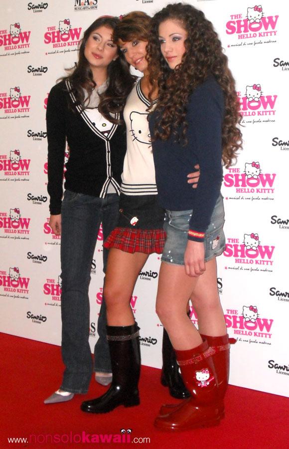 Hello Kitty the Show - Sanrio - Kitty Girls - Marina Maniglio - Selene Scarpolini - Tania Tuccinardi