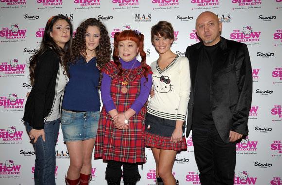 Hello Kitty the Show - Sanrio - Marina Maniglio, Tania Tuccinardi, Yuko Yamaguchi, Selene Scarpolini, Daniele Luppino