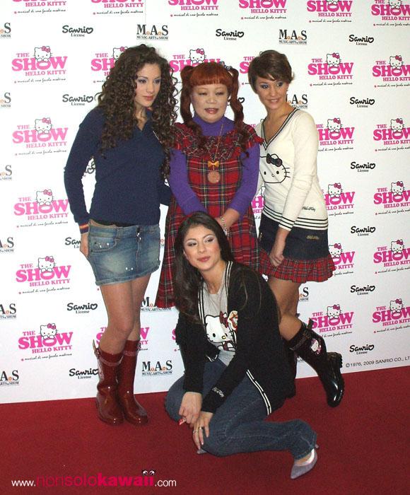 Hello Kitty the Show - Sanrio - Yuko Yamaguchi, Kitty Girls, Selene Scarpolini, Marina Maniglio, Tania Tuccinardi