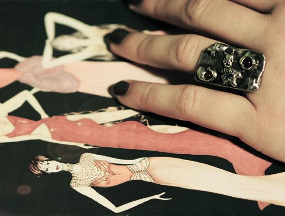 Annapaola Rapacciuolo - Le Chou Chou - bijou - kawaii - cute - jewellery - argento - silver - fashion - moda - ring - anello