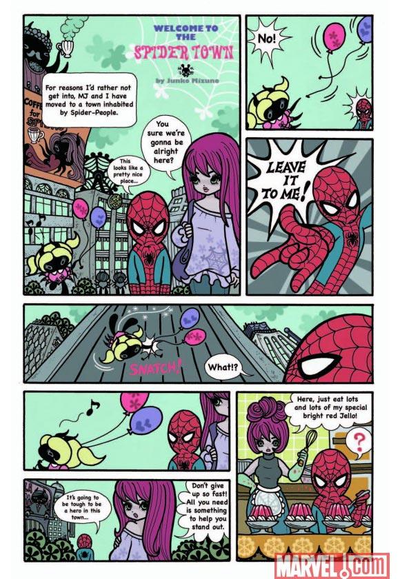 Marvel - Strange Tales - Spider-Man by Junko Mizuno