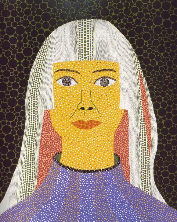 Yayoi Kusama, Self-Portrait, Autoritratto, 2008