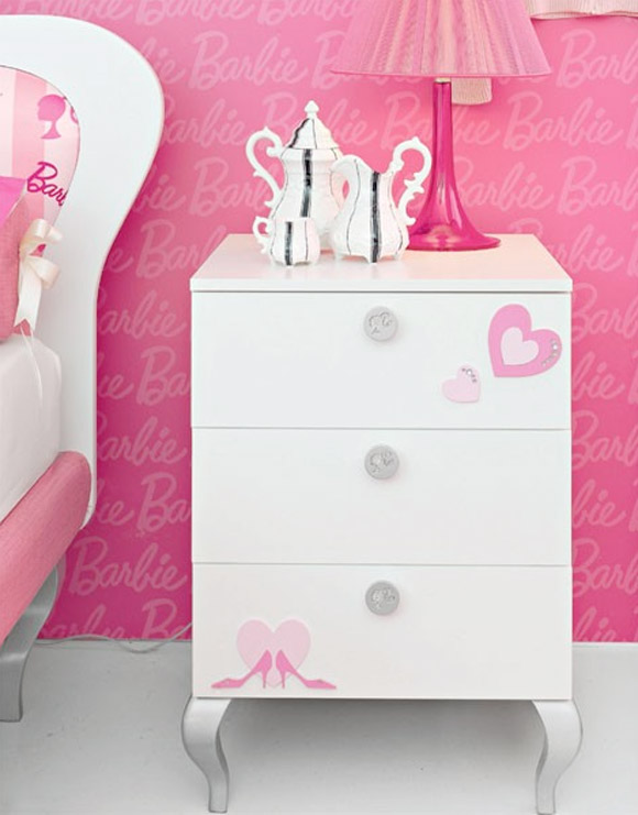 Barbie 50th anniversary - Doimo Cityline - Barbie's Room / camerette di Barbie rosa