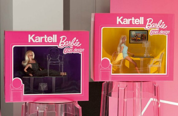 Barbie 50th anniversary - Kartell toy-size