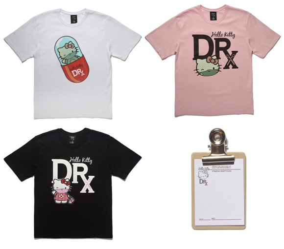 Dr. Romanelli, Sanrio, Medicom Toy - DRx / Hello Kitty T-shirt, 2009