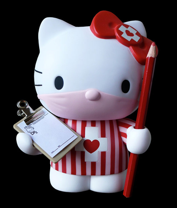 Dr. Romanelli, Sanrio, Medicom Toy - DRx / Hello Kitty nurse infermiera, 2009