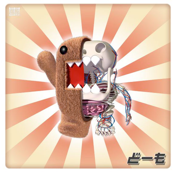 Jason Freeny - Anatomy Domo Kun