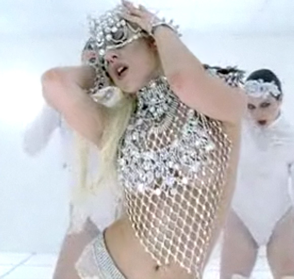 Lady Gaga, Bad Romance, Top by Franc Fernandez