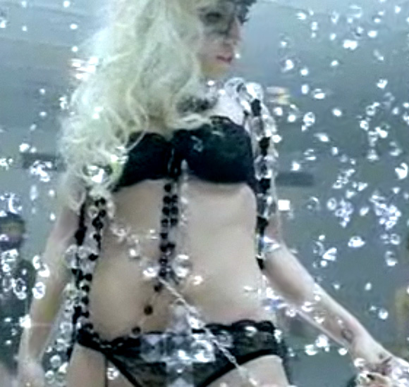 Lady Gaga, Bad Romance, Underwear Love by Agent Provocateur