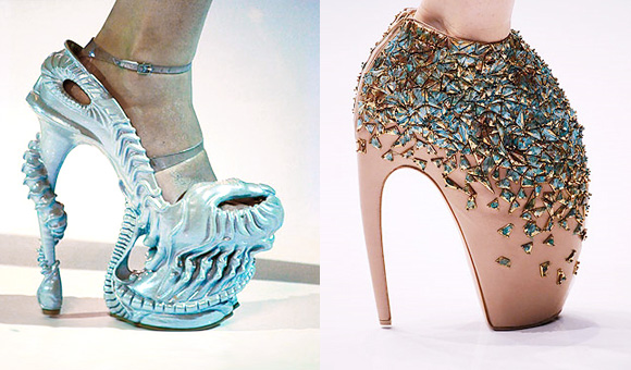 Lady Gaga, Bad Romance, Armadillo & Sea Creature shoes by Alexander McQueen