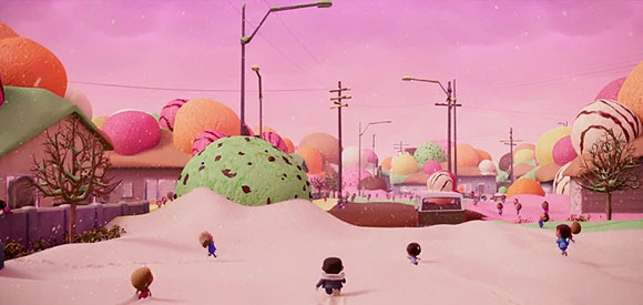Cloudy with a Chance of Meatballs (Piovono Polpette) - Città Gelato / Ice Cream Town