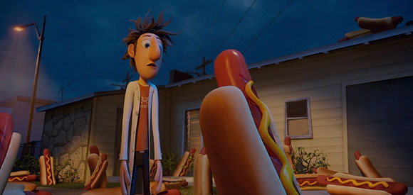 Cloudy with a Chance of Meatballs (Piovono Polpette) - Flint Lockwood