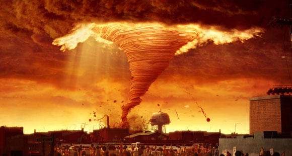 Cloudy with a Chance of Meatballs (Piovono Polpette) - Tornado di Polpette / Meatball Tornado
