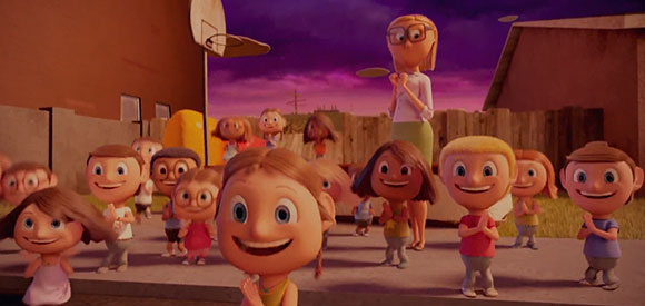 Cloudy with a Chance of Meatballs (Piovono Polpette) - Bambini / Children