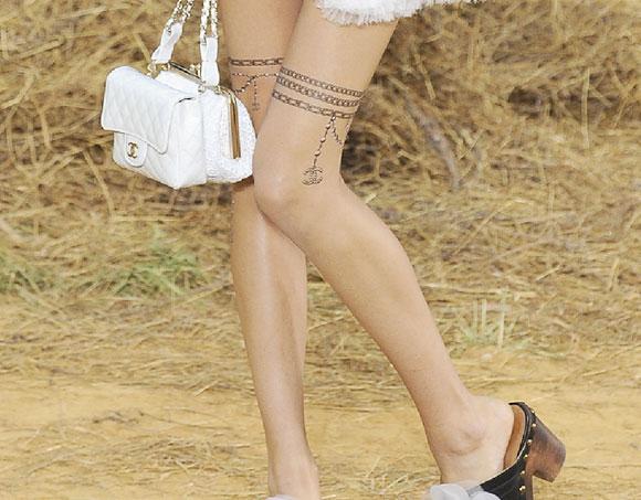 Chanel tattoo Les Trompe L'œil / tatuaggi