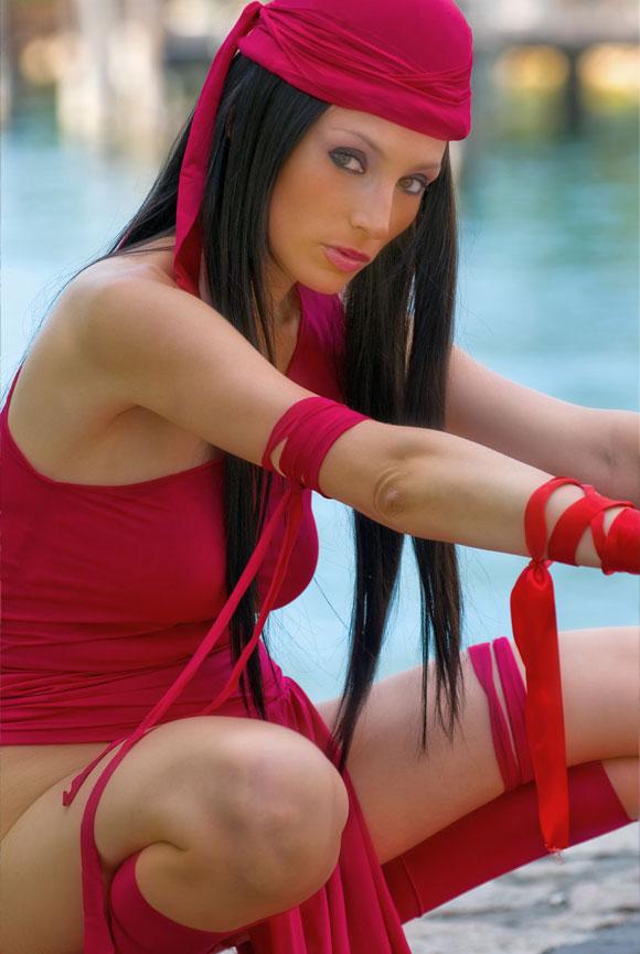 Giorgia Vecchini - Elektra Nachos (Comic: Daredevil)