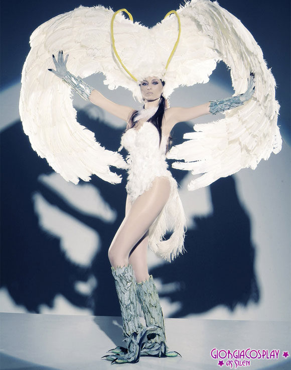 Giorgia Vecchini - Arpia Silen, Demon Bird Silen (Movie: Devilman, Live Movie version)