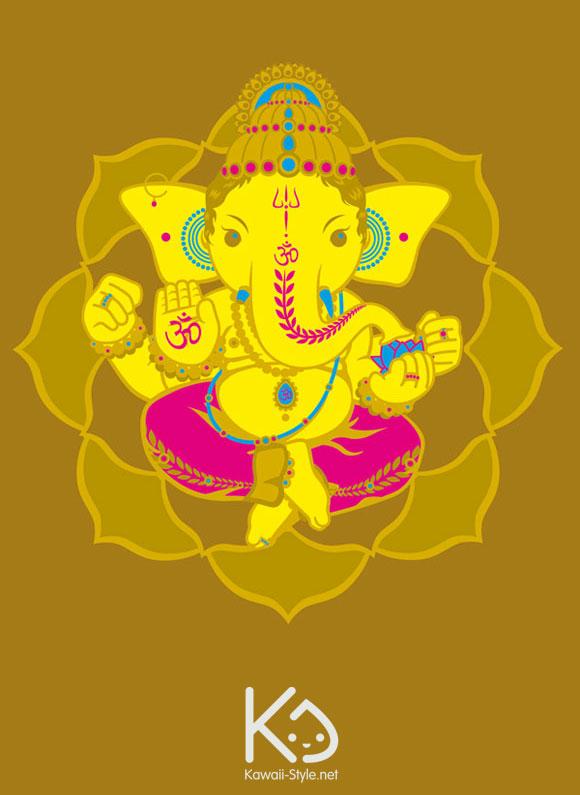 Ivan Ricci - Gold Ganesha