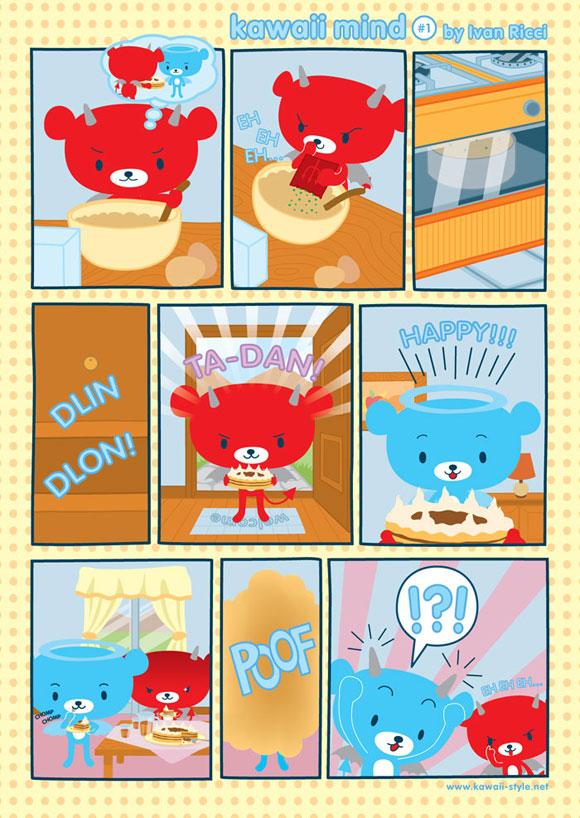 Ivan Ricci kawaii-style - Comics / Fumetti