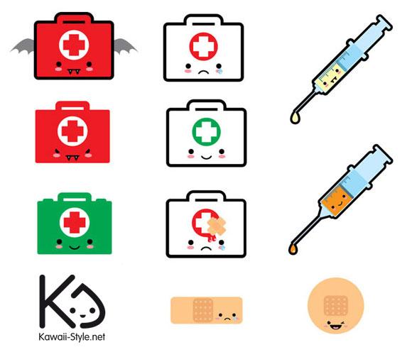 Ivan Ricci kawaii-style - First Aid / Primo Soccorso