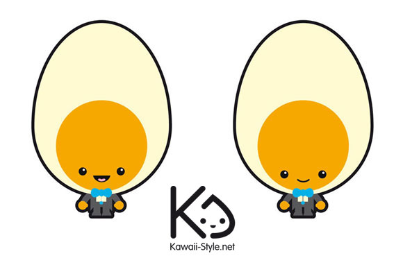 Ivan Ricci kawaii-style - Tamago-san / Signor uovo