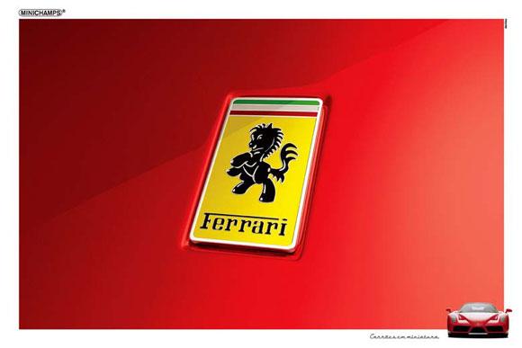 Minichamps: Ferrari - Cars in miniature, Brazil