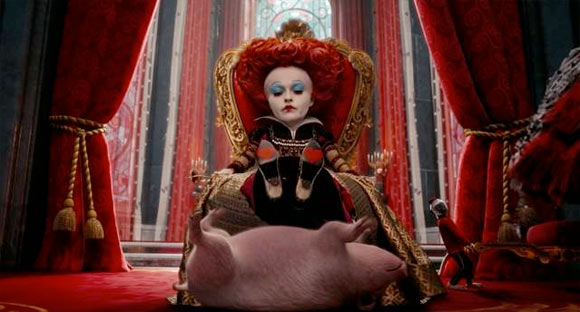La Regina Rossa / The Red Queen - Alice in Wonderland