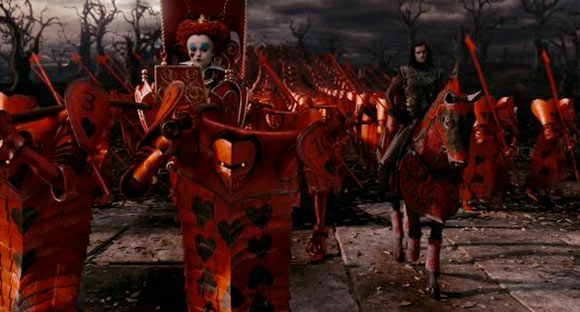 L'Esercito della Regina Rossa / The Red Queen's Army - Alice in Wonderland
