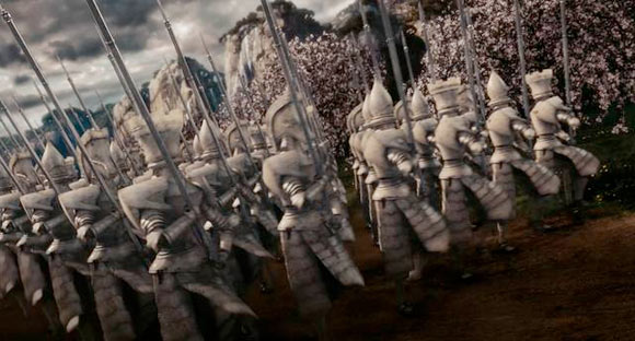 L'Esercito della Regina Bianca / The White Queen's Army - Alice in Wonderland