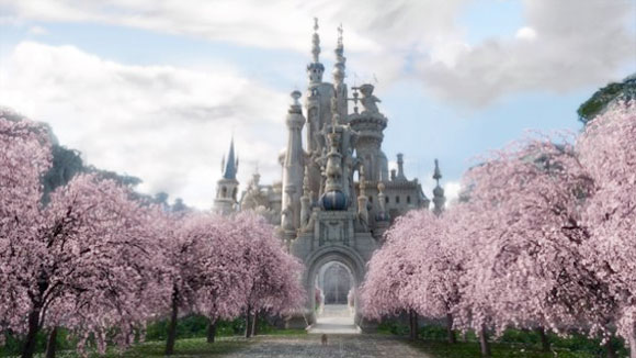 Il Castello della Regina Bianca / The White Queen's Castle - Alice in Wonderland