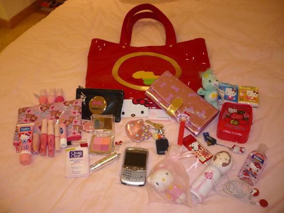 Gloss_addict's bag / La borsa di Gloss_addict