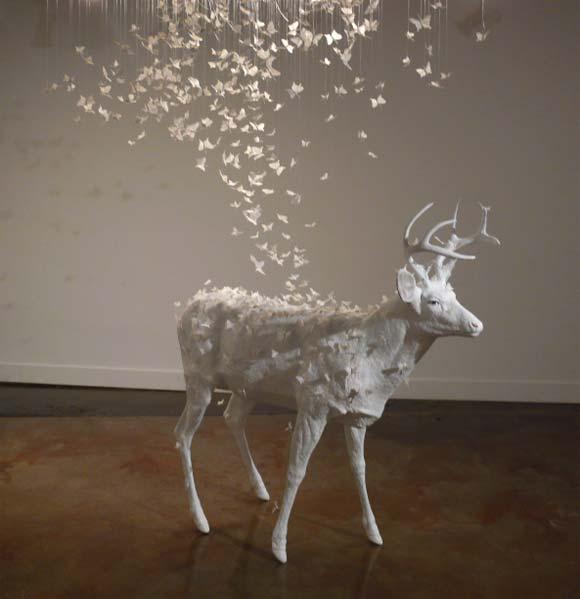 Josh Keyes - Mist, 2008