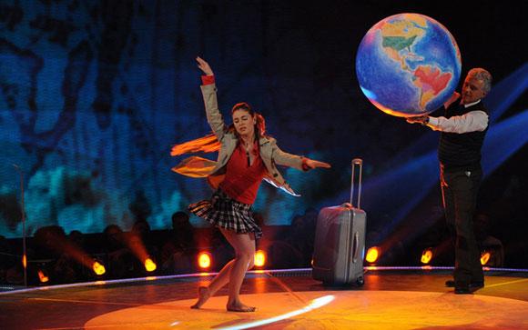 Marina Maniglio in Vuoi Ballare con Me?